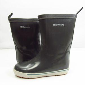 Tretorn Gray Skerry Winter Fur Rain Boots 37 W6.5